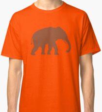 Elephant Outline Classic T-Shirt