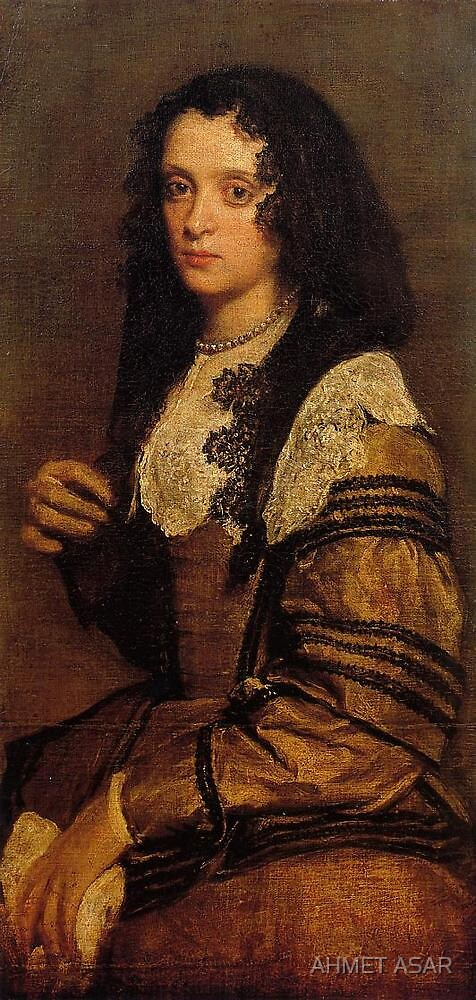A Young Lady by Diego Velázquez by MotionAge Media
