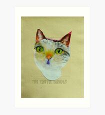 THE SAGE CAT Art Print