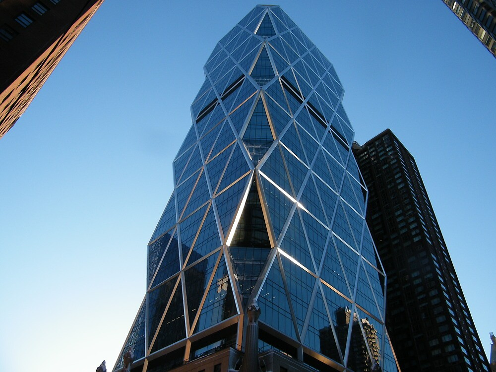 Hearst Building, West 57th Street , New York City by lenspiro