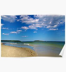 Kennebunkport Beach Poster
