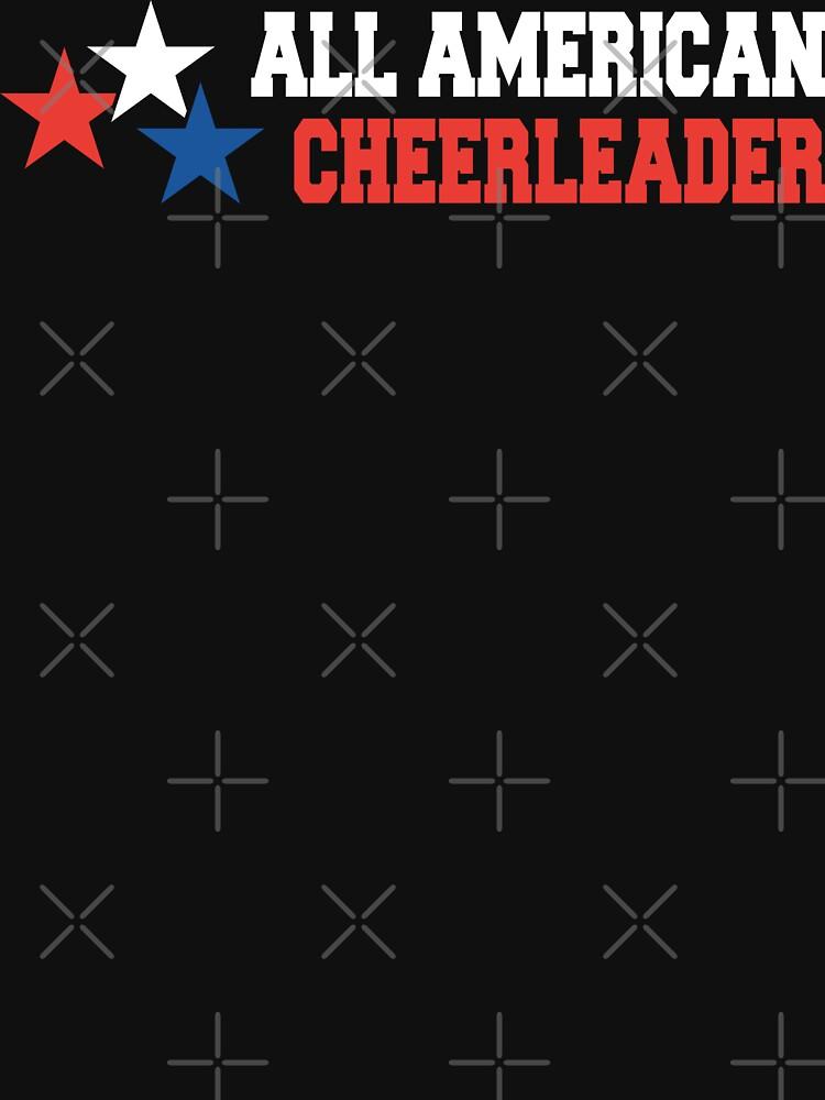 All American Cheerleader by SportsT-Shirts