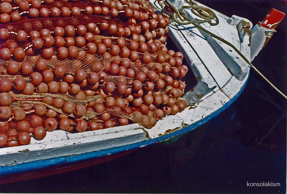 fisherman boat by konsolakism
