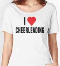 I Love Cheerleading Women's Relaxed Fit T-Shirt