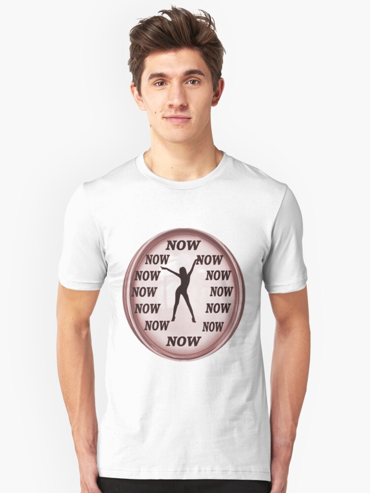 ✾◕‿◕✾ NOW IS THE TIME  GIRLS TEE SHIRT✾◕‿◕✾ Unisex T-Shirt Front