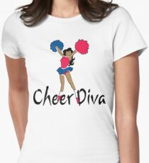 Cheer Diva Women's Fitted T-Shirt