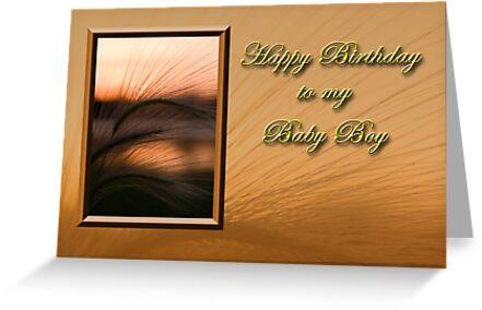 Birthday To My Baby Boy Sunset by jkartlife