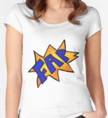 Comical Fap Women's Fitted Scoop T-Shirt