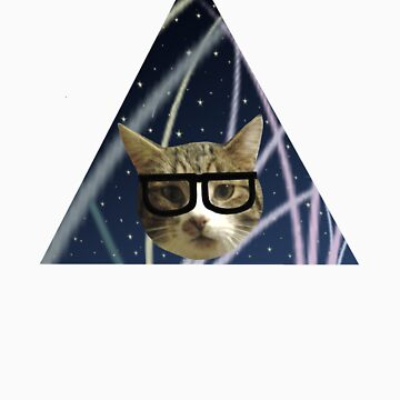 Hipster Cat by dreamorlive