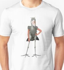 Posing Shoebill  T-Shirt