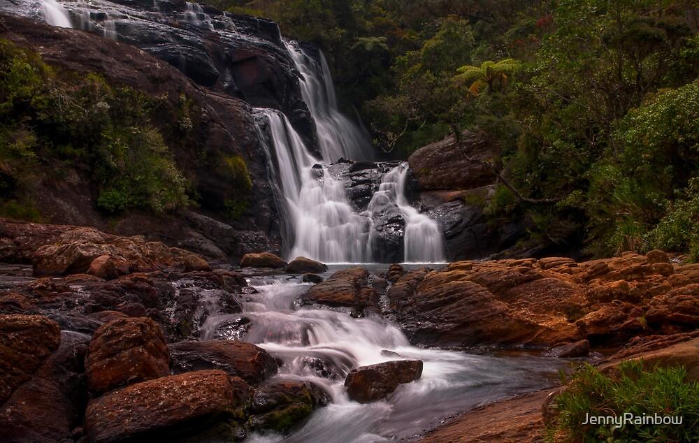 Bakers Fall II. Horton Plains National Park. Sri Lanka by JennyRainbow