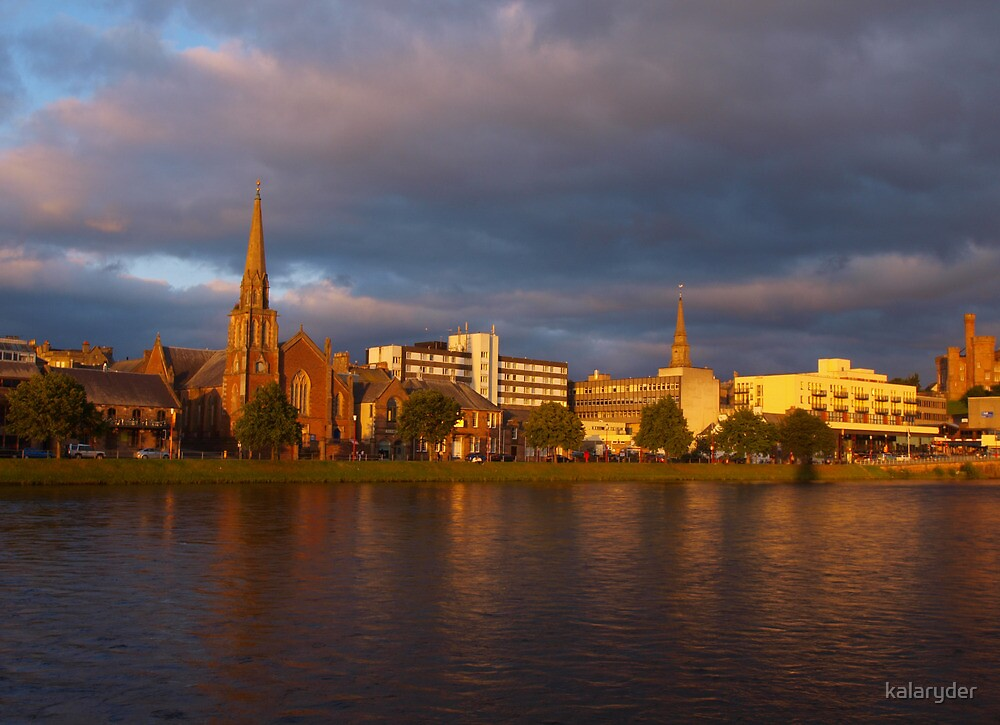 Inverness Evening by kalaryder