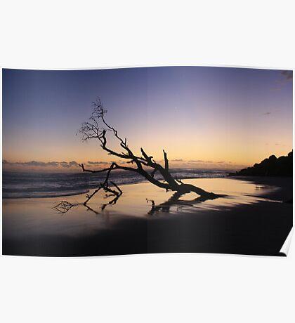 Dawn at Kingscliff Beach ... Poster