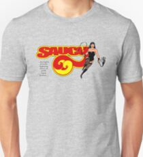Saucy 69 with logo Unisex T-Shirt