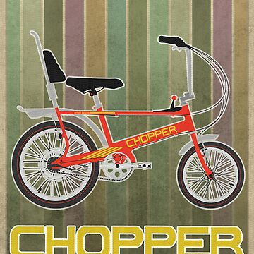Chopper Bicycle by AndyScullion