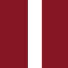 Latvia Flag by pjwuebker