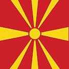 Macedonia Flag by pjwuebker