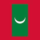 Maldives Flag by pjwuebker
