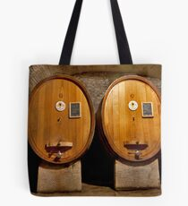 Wine Cellar Twins Tote Bag