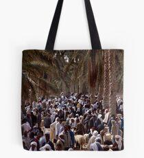 Animal Market in Douz Tote Bag