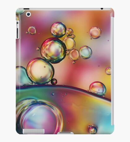 Rainbow Bubble Drops iPad Case/Skin