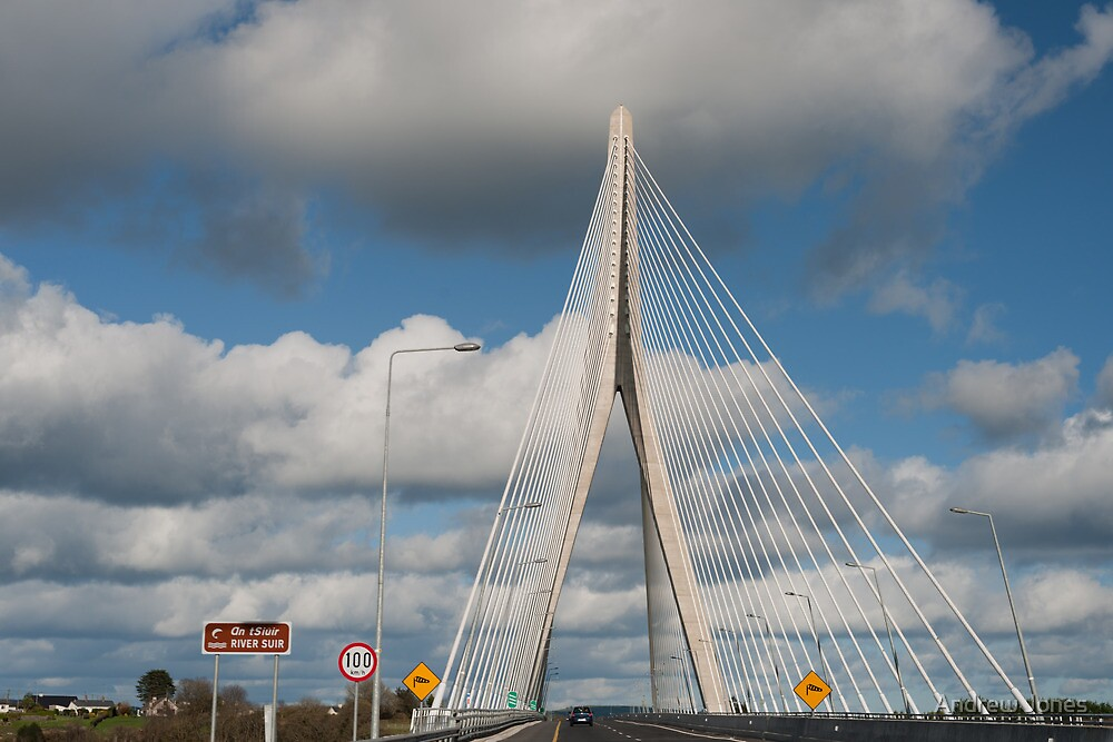 River Suir Bridge, Waterford, Ireland by Andrew Jones