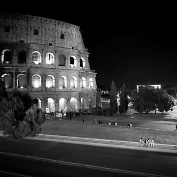 Colosseum at Night - Rome by giuliomenna