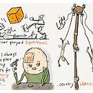 Squareball by Ellis Nadler