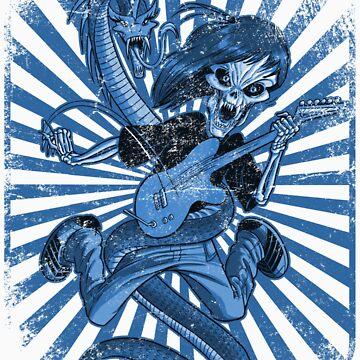Rock n Roll Destroyer by metaljesusrocks