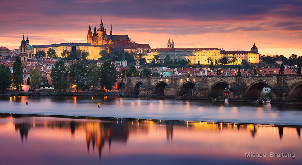 Prague Vista by Michael Breitung