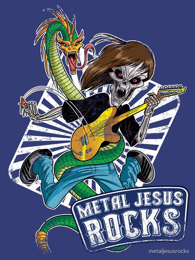 Rock n Roll Destroyer - MJR by metaljesusrocks