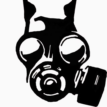 Future War Dog with a gas mask by youngbossteam