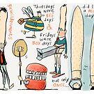 Thursdays were Bee Days by Ellis Nadler