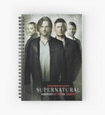 supernatural Spiral Notebook