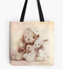 Two little rabbits Tote Bag