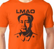 LMAO - Laughing my ass off (Mao Zedong) Unisex T-Shirt