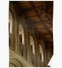 St. Davids cathedral roof Poster