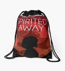 Spirited Away Movie Poster Drawstring Bag