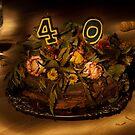 Birthday cake nr 40 by Peter Zentjens