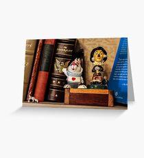 Bookshelf Greeting Card