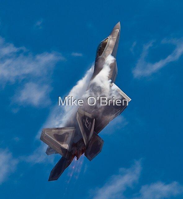 F22 Raptor by Mike O'Brien
