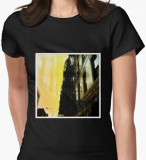 City-Scape Escape Womens Fitted T-Shirt