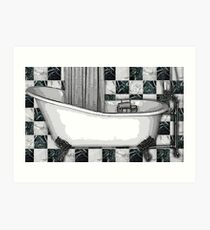 CLAWFOOT BATH Art Print