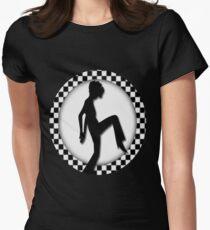 ♥•.¸¸.ஐCHECKIN IN TEE SHIRT ♥•.¸¸.ஐ Women's Fitted T-Shirt