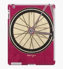 Single Speed Bicycle iPad Case/Skin