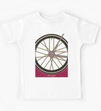 Single Speed Bicycle Kids Tee