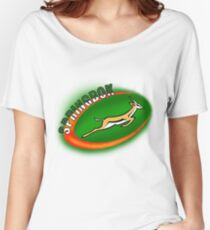 SPRINGBOK RUGBY SOUTH AFRICA Women's Relaxed Fit T-Shirt