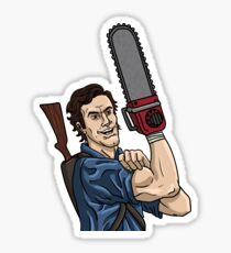 Evil Dead - We Can Do It parody Sticker