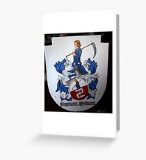 Coat of Arms (painting) Greeting Card