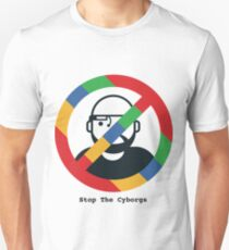 Support The Humans - Stop The Cyborgs Unisex T-Shirt